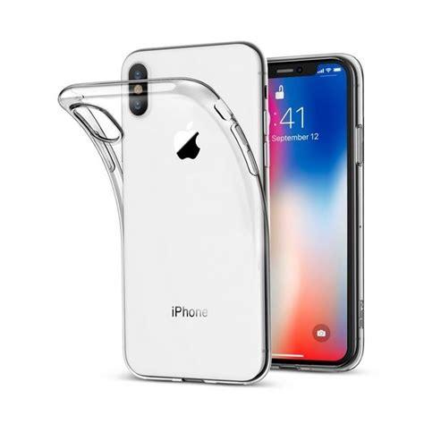 coque en silicone 0 3mm pour iphone x produstore