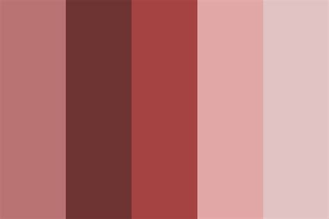 blush colors rosy blush color palette
