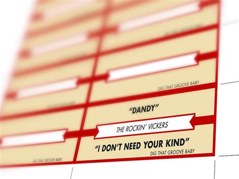 Jukebox Labels Template jukebox label template owned by things