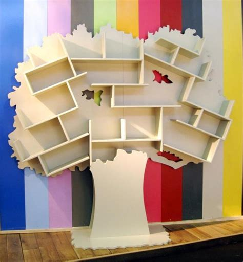 letter a shaped bookcase for children s room fresh tree shaped bookcases adding interest to kids room decorating