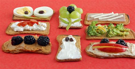 easy snacks easy snack options cracker toppings healthy ideas for