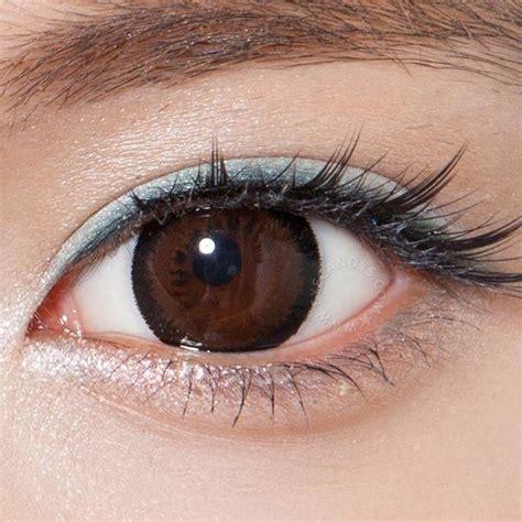 brown color contacts buy geo princess mimi almond brown circle lenses eyecandys