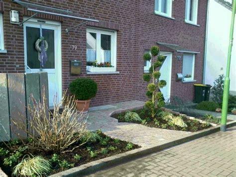 Gestaltung Vorgarten Reihenhaus