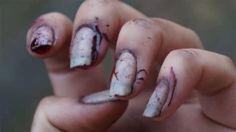zombie nail art tutorial nail art zombie nails beautylab nl