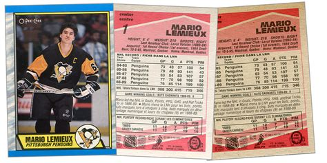 how to make a hockey card 1989 90 o chee tembec test prototype hockey cards