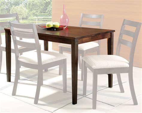 acme dining table in oak finish tacoma ac00867