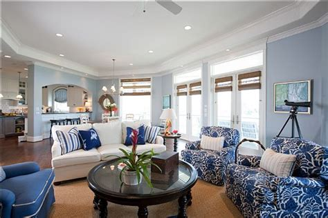 blue and white living room ideas blue and white living room
