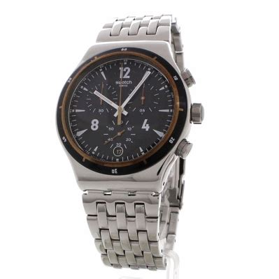 Swatch Irony Chrono 3 gents swatch irony chrono destination madrid chronograph yvs419g watchshop