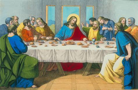 la ultima cena de jesus y sus discipulos compartiendo por amor marzo 2015