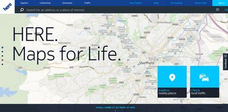 here maps for life montadoras alem 227 s compram servi 231 o de mapeamento da nokia