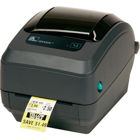 Printet Barcode Zebra Gk420t zebra printers and software manuals guides drivers