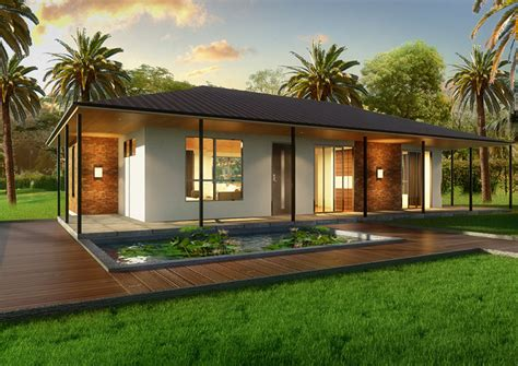 villa  bedroom kit home