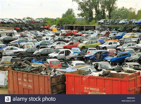Car Dump Yards wrecked vehicles dump salvage yard recycling depot cars