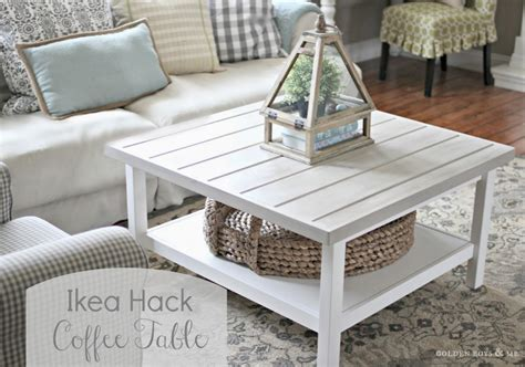 diy farmhouse coffee table ikea picture of whitewashed hemnes table