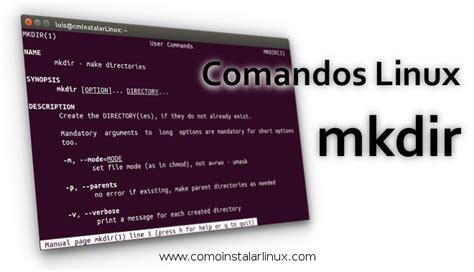 abrir imagenes jpg ubuntu linux command mkdir aprende a crear directorios en linux