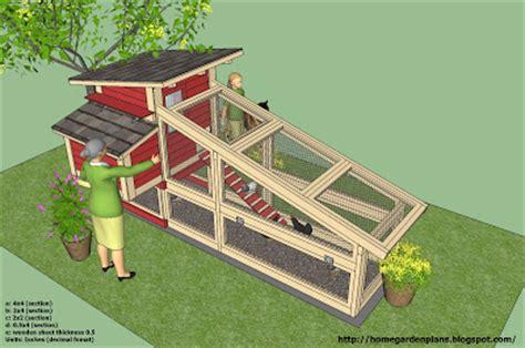 kippenhok bouwtekeningen hobbyblogonl