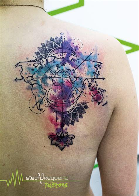 mandala tattoo verlaufen tattoo landkarte gallery of tattoo rose meer wellen