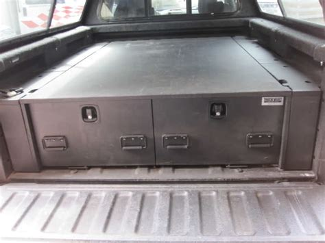 truck bed drawer system truck bed vault tacoma world