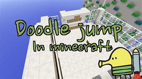 minecraft mini doodle jump mini doodle jump in minecraft 1 4 players trailer