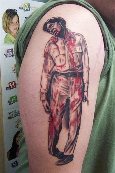 dawn of the dead tattoos of the dead