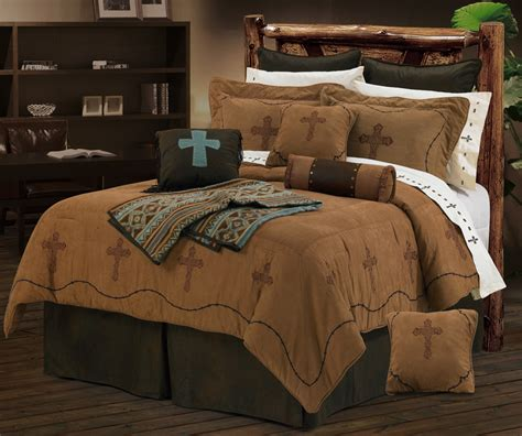 cross and barb wire texas comforter bedding set super