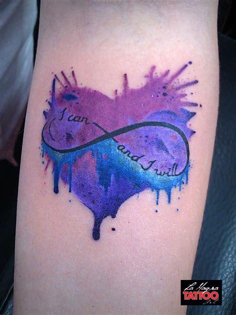 watercolor tattoo infinity watercolor infinity lamagratattoo