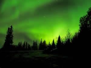 northern lights fairbanks alaska usa skylights