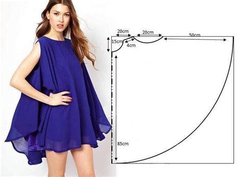 vestido facil de hacer vestidos de patrones simples
