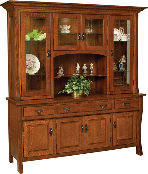 hutches for dining room amish artisans collaborate to create a new solid wood furniture design the custer dining set