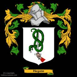 Hayes family crest click here to get bargain hayes coat of arms gifts