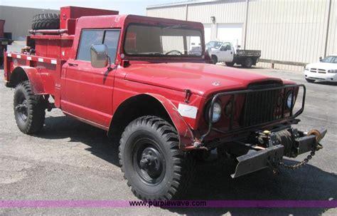 1968 Kaiser Jeep M715 For Sale 1968 Kaiser Jeep M715 Brush Firetruck Item H6419 Sold