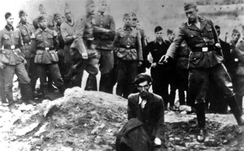 imagenes holocausto judio por nazis masacre en ucrania babi yar la trastienda del holocausto