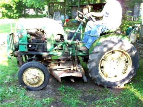 L For Sale by Sold Deere La With 4 Implements For Sale With Mower Plow Cultivators Disk Plow