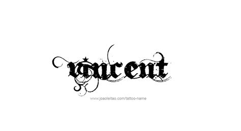 doodle name vincent vincent name designs