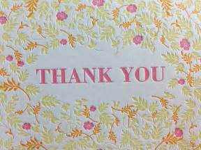 fall floral letterpress thank you cards dolce press