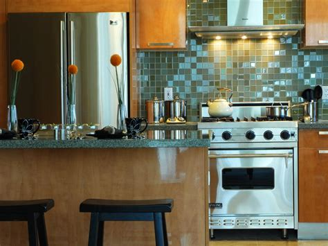 glass backsplashes for kitchens small kitchen decorating ideas pictures tips from hgtv