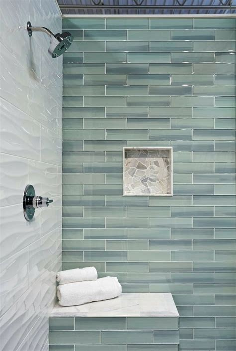 glass subway tile bathroom ideas large glass tiles for bathroom peenmedia com