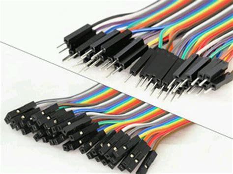 Kabel Jumper Arduino kabel jumper arduino cable jumper pelangi arduino