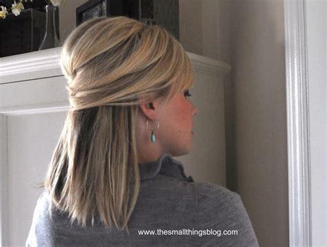 bridesmaid hairstyles down straight simple straight half up half down wedding hair do