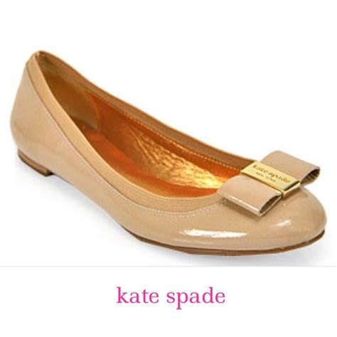 Patent Bow Flats 73 kate spade shoes kate spade gold patent