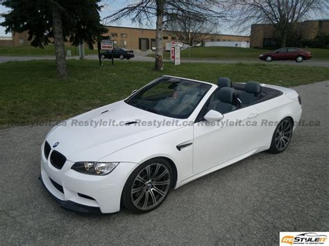 matte white bmw matte white m3 convertible vehicle customization shop