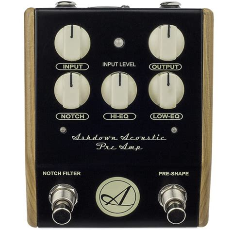 best pre for acoustic guitar disc ashdown acoustic guitar pre di pedal at gear4music