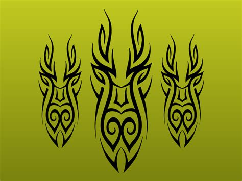 abstract tribal tattoo abstract tribal vectors