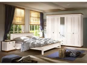Landhaus Schlafzimmer Komplett Schlafzimmer Komplett Kleiderschrank Bett 180x200 2x