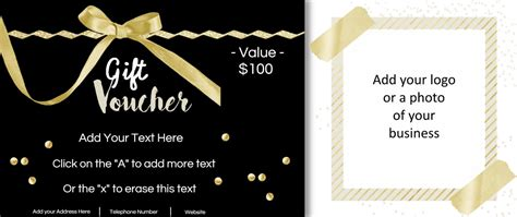 gift card voucher template gift vouchers