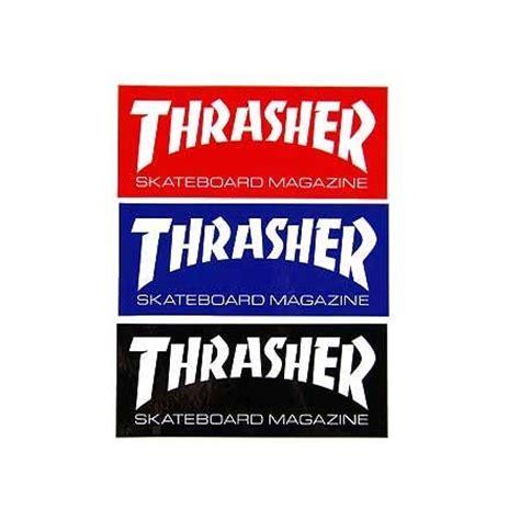 thrasher magazine skate mag sticker in stock at spot skate