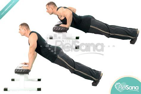 push ups on bench bench pushups
