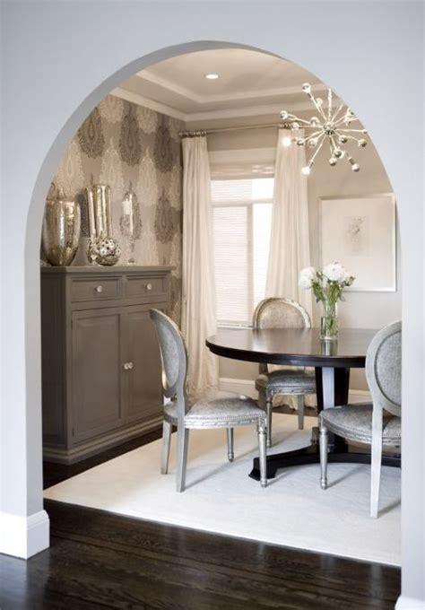 amoroso design lovely gray dining room design