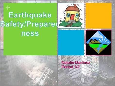 templates powerpoint earthquake earthquake safety authorstream