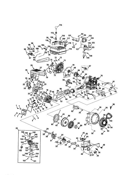craftsman snowblower parts diagram craftsman 26 snowblower engine diagram html